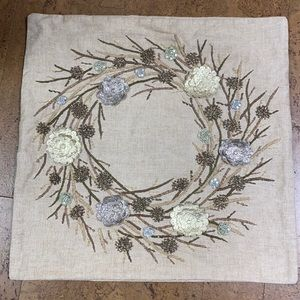 Pottery Barn cushion cover